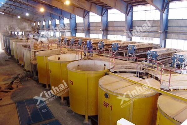 300tpd Zinc Oxide Leaching Smelting Plant in West Asia