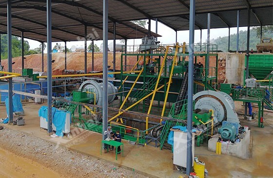 ball-mill-on-site